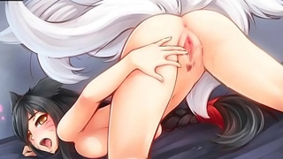 league of legends hentai ahri video sexy