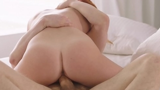 VIXEN Red head loves passionate sex