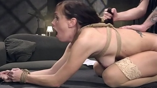 Ex husband fucks all holes to slave ex wife
