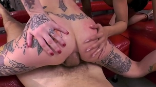 Anal threesome with Rocco Siffredi, Canela Skin and Megan Inky
