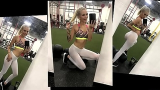 Fit Teen Alex Grey Fucked Hard In Yoga Pants - Gym Selfie S1:E2