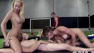 This cock devoted coed likes to get her slit fucked
