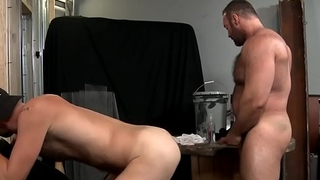 Gay bear pounding ass