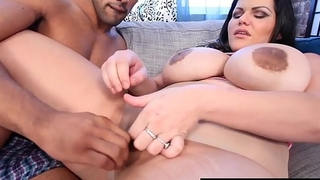Unsighted Cuban Angelina Castro Titty Fucked By Big Black Cock!