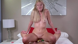 Russian MILF Angelina Bonnet flashes her tits in sell for succeed in