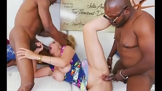 Hot MILF Julia Ann Gets Demolished By Bodyguards