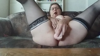 My pussy and asshole like sperm in and big cock