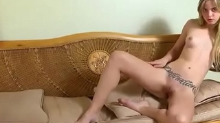 Tattooed Cam Petite Teen Rubbing Pussy - FMS Empire