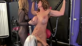 Cougar Deauxma Whipped Upon Cage &amp_ On Cross By Nina &amp_ Sally!