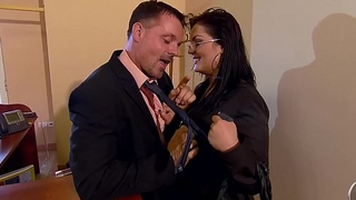 Jasmine Black vs J&ouml_rg Jopke - Secretary with special service