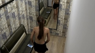 Hidden Camera in the Women'_s Locker Room