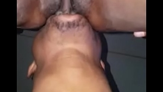 boy eating her girlfriend wet pussy